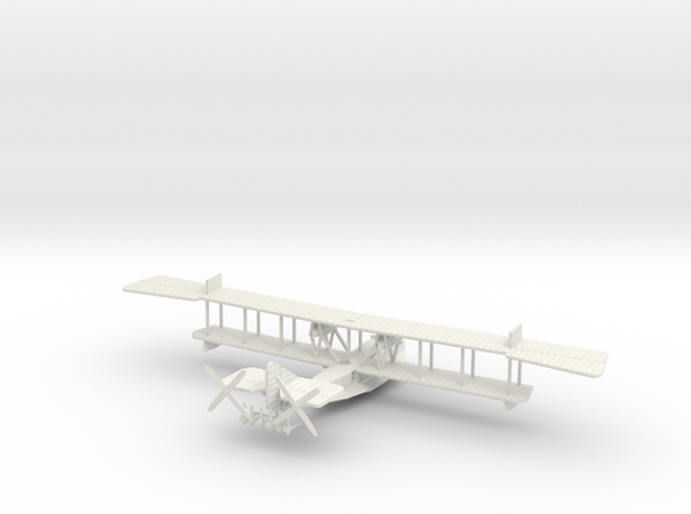 Felixstowe F.2a early version 1/144th scale in White Natural Versatile Plastic
