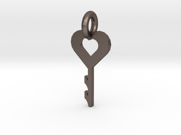 key to my heart 3d printed test printed by my mini factory