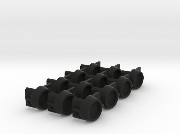 EBT Pole Pocket 22p5 X12 in Black Strong & Flexible
