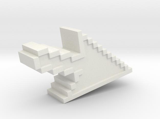 Pixel Click Pendant - Earring 3d printed click