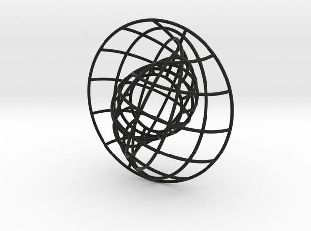 Nesting Spheres 3in 3d printed