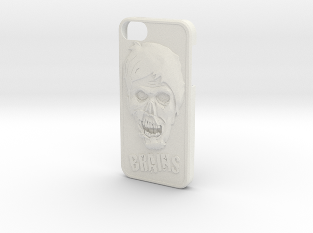Zombie and Brains Iphone 5 / 5S Case 3d printed