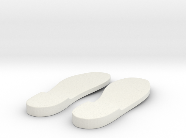 Sole 4 in White Strong & Flexible