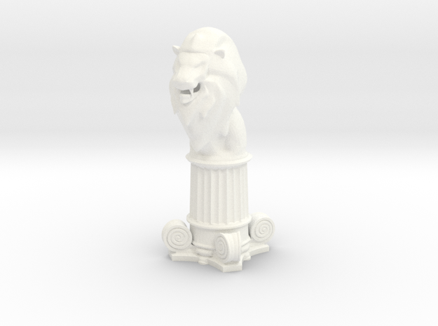 Lion Bishop (Square Base)