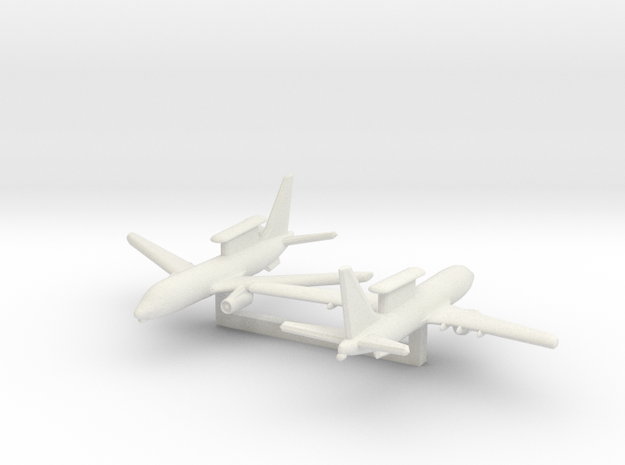 1/700 Boeing 737 AEW&C (E-7A Wedgetail) in White Natural Versatile Plastic