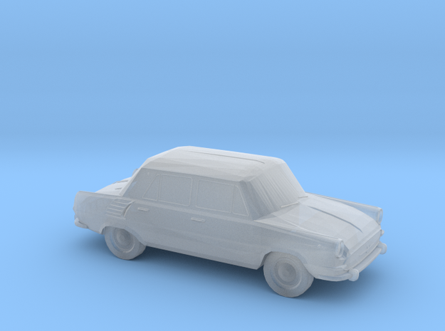 Skoda 1000 MB - HOscale in Smooth Fine Detail Plastic