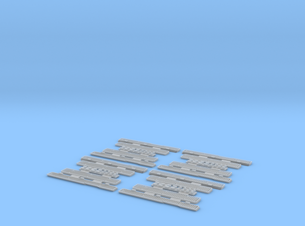 1:35 T-34 Grills Early Economy pack 3d printed