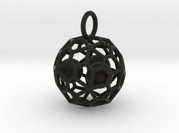 Blue Ball Cage  3d printed