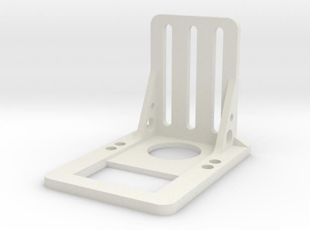 FPV Servo Mount V2 in White Natural Versatile Plastic