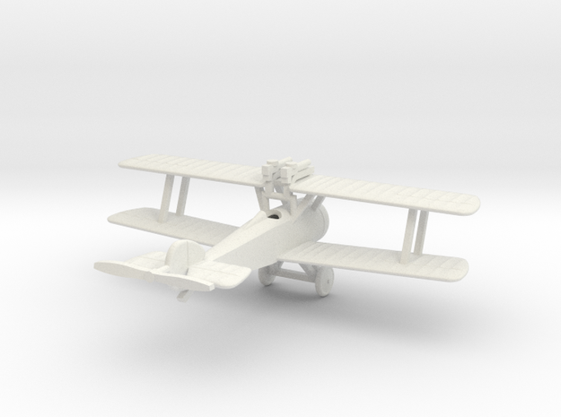 1/144 Sopwith Camel Comic in White Natural Versatile Plastic