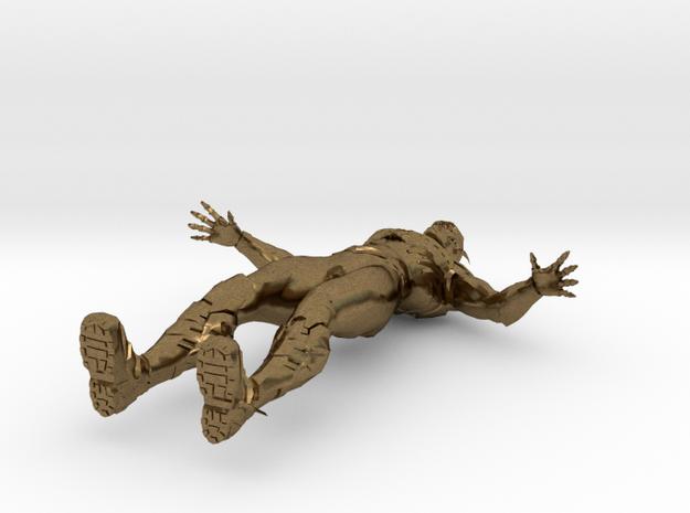 Flash in Raw Bronze