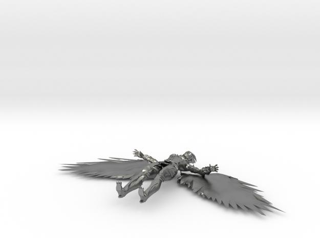 Hawkgirl V in Raw Silver