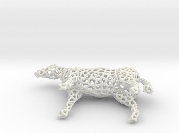 Horse Voronoi 3d printed