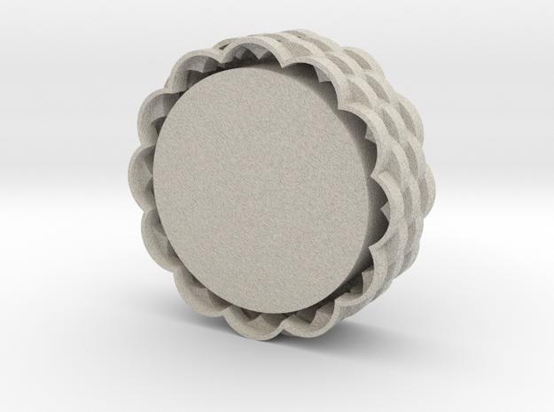 Tealight Holder in Sandstone
