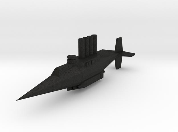 1/1200 Brutis Torpedo Ram 3d printed