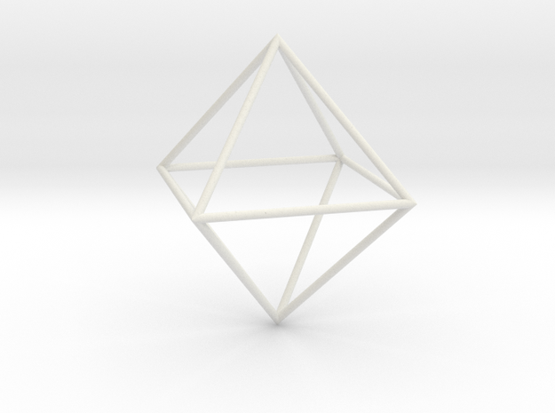 Octahedron 100mm 3d printed