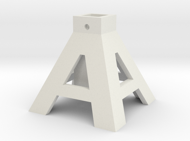 axlestand base 3d printed