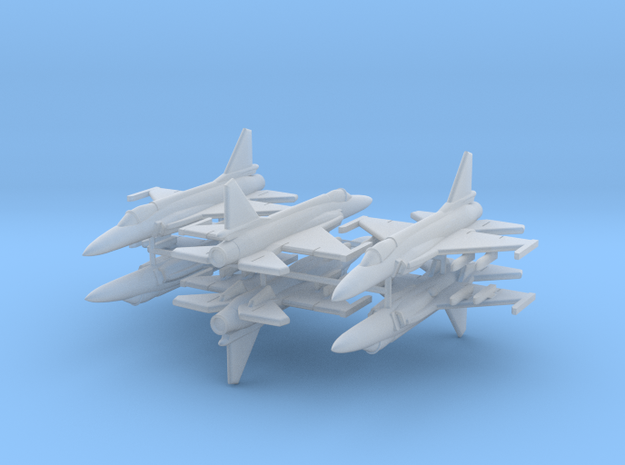 1/700 JF-17 Thunder (x6) in Frosted Ultra Detail
