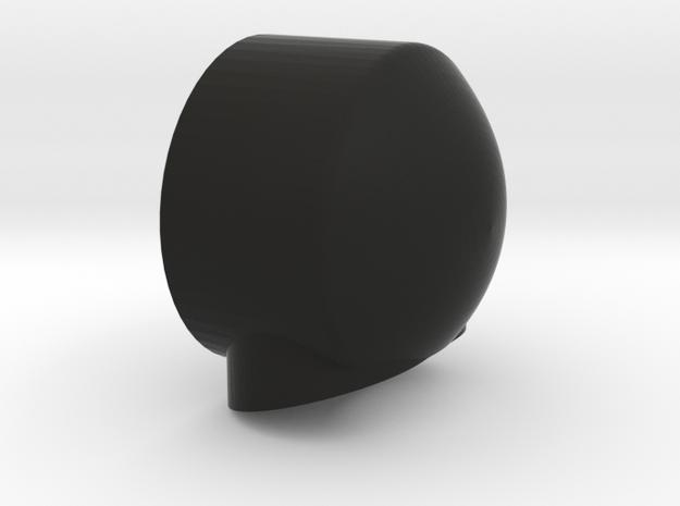 Seas tweeter dashboard mounting pod in Black Natural Versatile Plastic