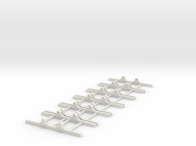 Sn2 Underframe type B 3ft 6 wb x6 3d printed