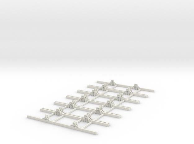 Sn2 Underframe 7ft wb x6 3d printed
