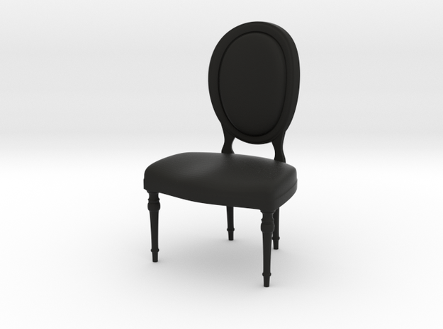 1:24 Oval Chair 2 (Not Full Size) 3d printed