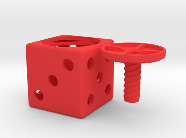*ring holder The Gambler 3d printed