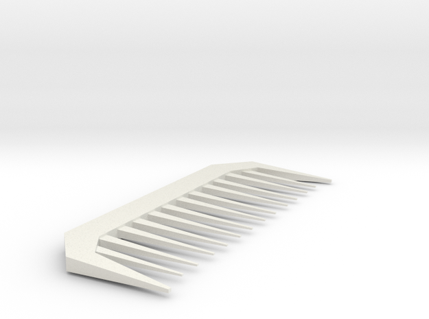 Comb in White Strong & Flexible