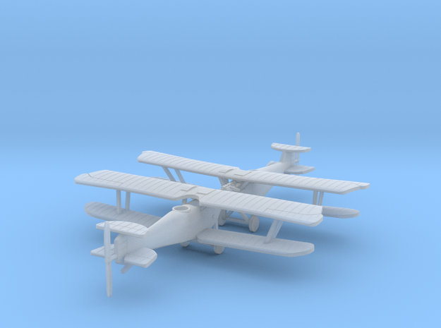 1/288th Hannover CL.III 3d printed