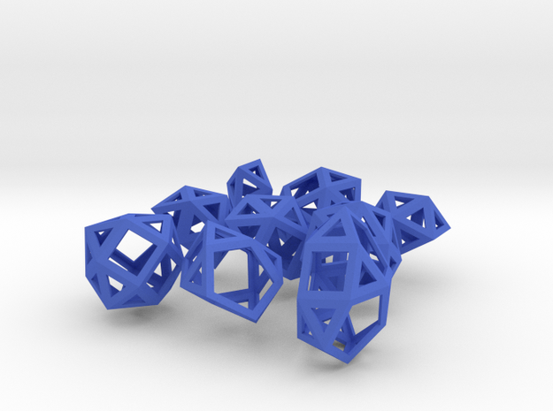 The Last 9 Johnson Solids 3d printed