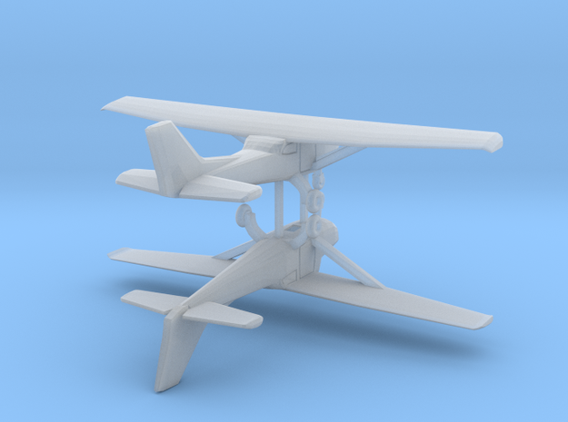 Cessna 172 - Hollow - Set of 2 - Nscale in Frosted Ultra Detail