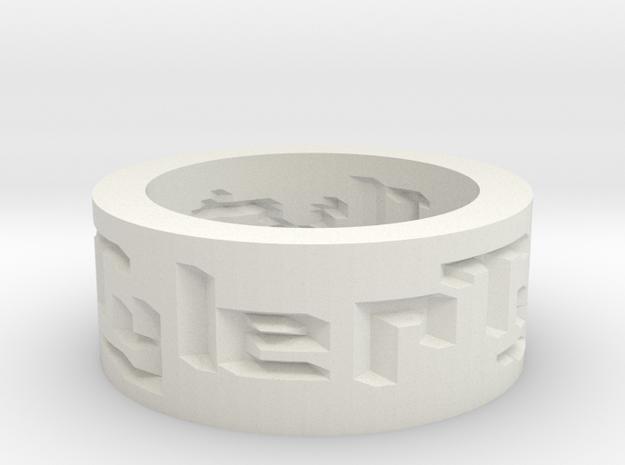 by kelecrea, engraved: I love u tyler 3d printed