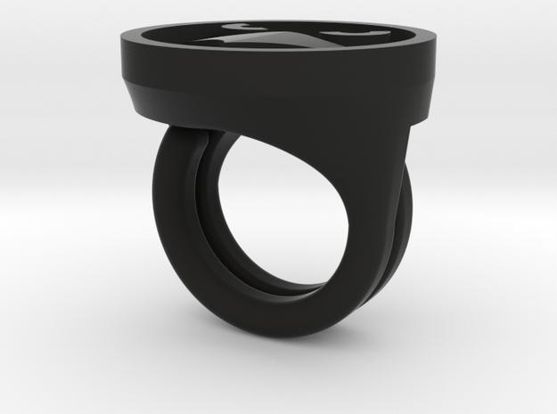 Razorhawk Rings 3d printed