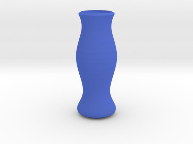 The Vase in Blue Processed Versatile Plastic