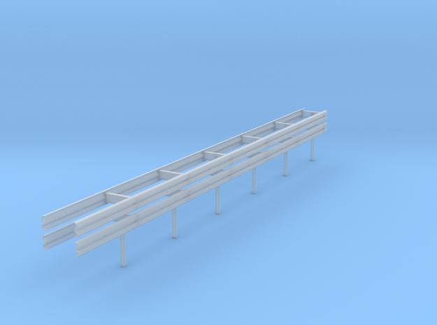 01.001.110_Mittelschutzplanke doppelt in Smooth Fine Detail Plastic