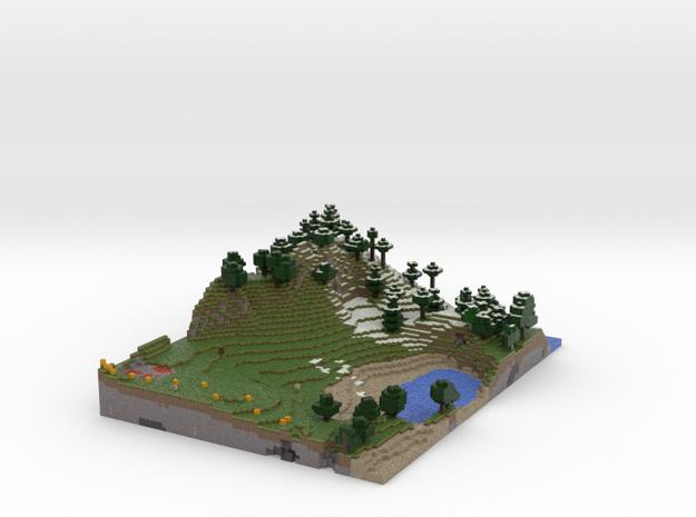 Minecraftlandscape (summer) 3d printed