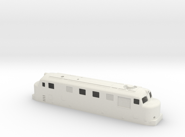 hr12 H0 in White Natural Versatile Plastic