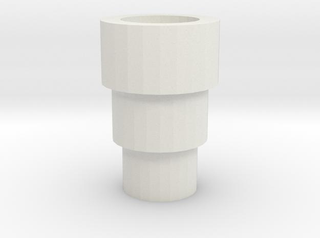 MT M-F-B Handle Replacement in White Natural Versatile Plastic