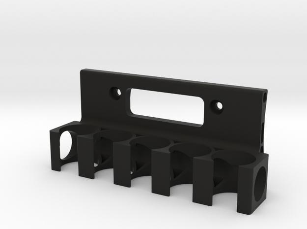 ShotShellHolder 6 in Black Natural Versatile Plastic