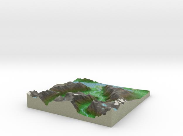Terrafab generated model Thu Feb 20 2014 23:35:40 3d printed