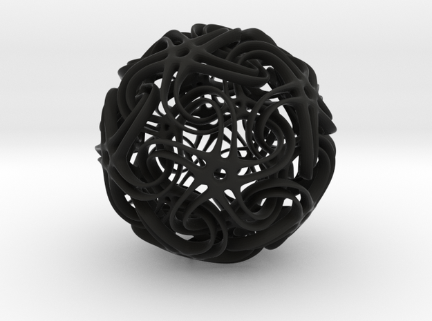 Entwined 3d printed