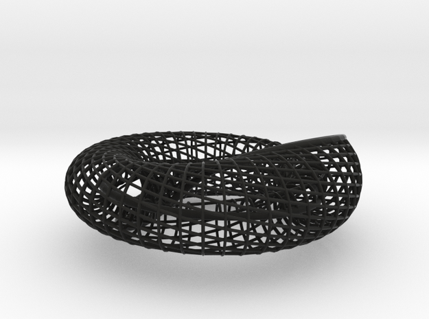 "Spiraling Inside Out | 48x24 | bracelet | 2.875"" 3d printed"