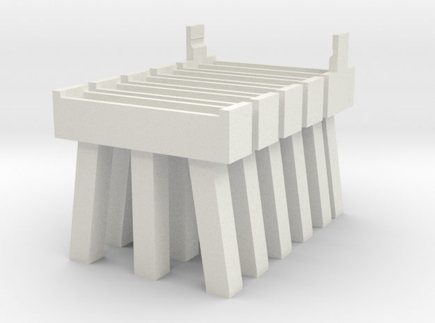 Bridge N Pier 1 and 2 Five Pack 3d printed