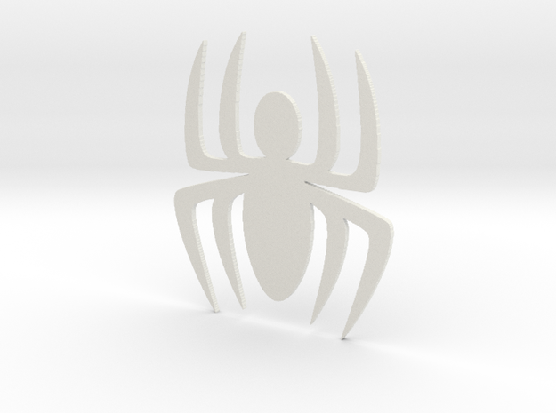 Comic Spider Symbol 3d printed