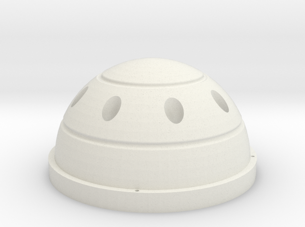 Canopymini 112mm internal  in White Natural Versatile Plastic