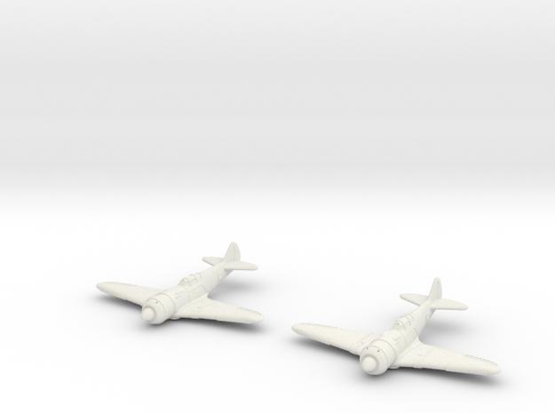 1/200 Lavochkin La-7 (x2) in White Strong & Flexible