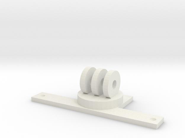 GoPro Rustler Mount 3d printed