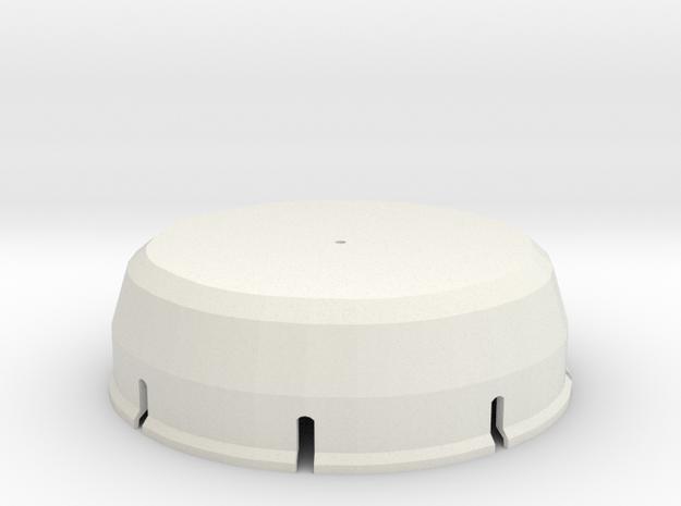 Atta Cover Top 26 in White Natural Versatile Plastic