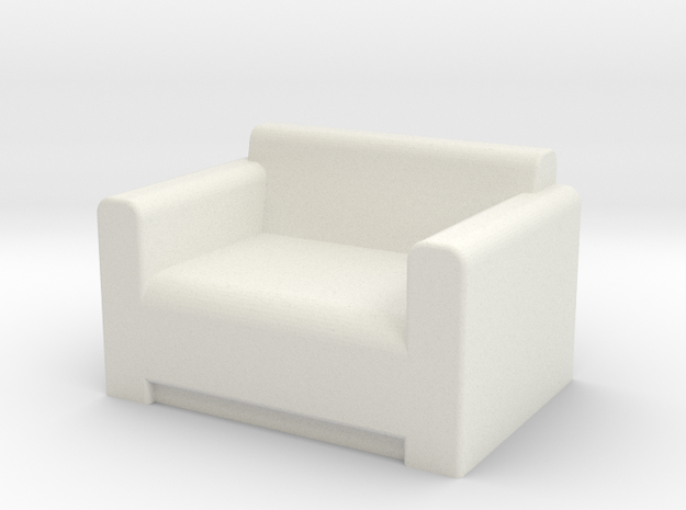 Comfy Chair OO Scale