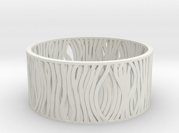 Filar bracelet 62mm 3d printed